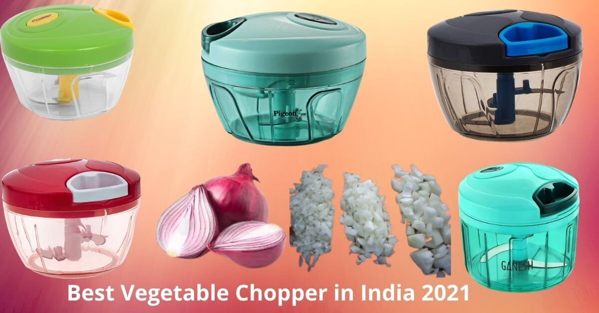 Top 4 Best Handy Mini Manual vegetable chopper for cutting vegetables in India in 2021