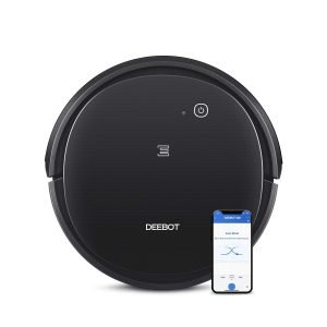 ECOVACS-Deebot-500-Robots-Vacuum-Cleaner-with-Robotic-Smart-APP-Control-Max-Mode-Suction-Power-3-Stage-Cleaning-System-Compatible-with-Alexa