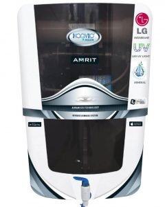 Konvio Neer Amrit RO + UV + UF + TDS Adjuster Water Purifier with Japanese UV and High TDS 3000 Membrane (Amrit Mineral Black)