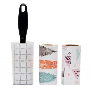 STORE 2508 Lint Roller with Cover with 2 Refills