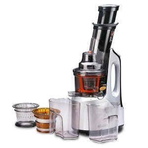 AGARO - 33293 Imperial 240-Watt Slow Juicer with Cold Press Technology