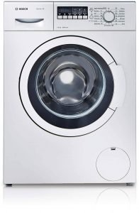 Bosch 7 kg Fully-Automatic Front Loading Washing Machine (WAK24268IN, silver grey, Inbuilt Heater)