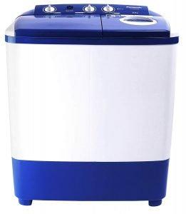 Panasonic 6.5 kg 5 Star Semi-Automatic Top Loading Washing Machine (NA-W65E5ARB, Blue, Powerful Motor)