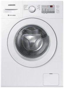 Samsung 6.0 Kg Inverter 5 Star Fully-Automatic Front Loading Washing Machine (WW60R20GLMA TL, White, Hygiene Steam)