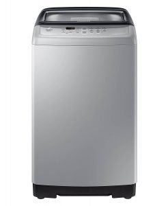 Samsung 6.5 kg Fully-Automatic Top Loading Washing Machine (WA65A4002VS TL, Imperial Silver, Center Jet Technology)