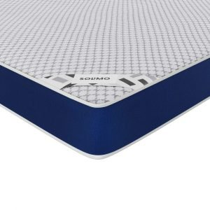 Amazon Brand - Solimo Orthopedic Memory Foam Queen Size Mattress for Superior Back Care (72x60x6 inches)