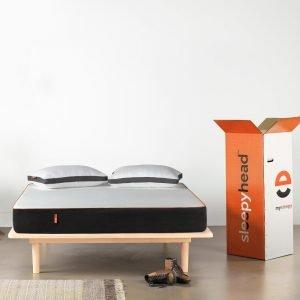 Sleepyhead 3 Layered Orthopedic Memory Foam Mattress, 72x36x5 inches (Single Size)