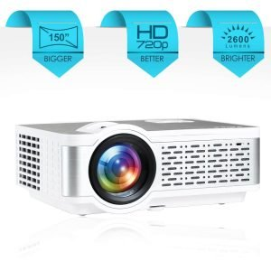 EGate i9 Pro-Max Full HD 1080p Modulated at 720p Base LED Projector