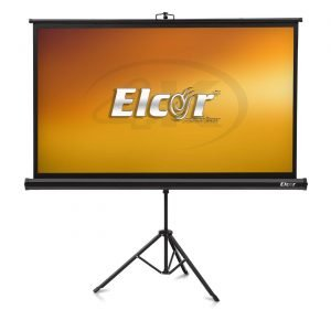 ELCOR® lite Series Tripod Portable Projector Screen