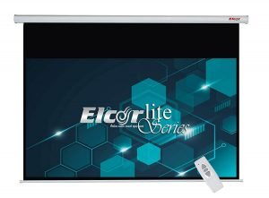 ELCOR lite Series Electric Motorized Projector Screen