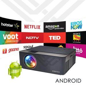 Visitek V6 Smart Android HD 720p (1080p Support) 3300L