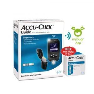 Accu-Chek-Guide-Glucometer-Bluetooth